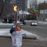 эстафета олимпийского огня :: Дмитрий Карышев