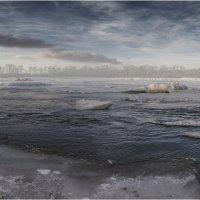Декабрь на реке. :: Евгений Герасименко