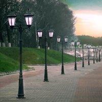 Набережная города Костромы :: Мария Макарова