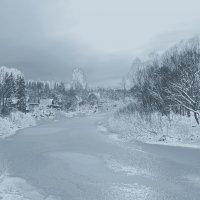 Пришла зима серебристая :: Нина северянка