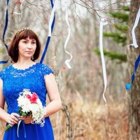Lady in blue :: Анастасия Стробыкина