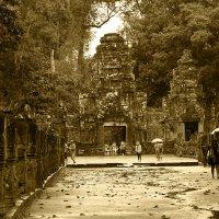 Во время дождя... Ангкор, Камбоджа :: Елена Шацкова