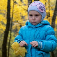 В осеннем лесу :: Олег Козлов