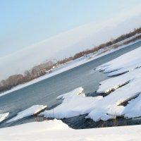 Узор льдин на реке Томи :: Нина северянка