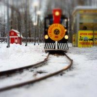 Прибытие поезда :: Alexander N Ruzov