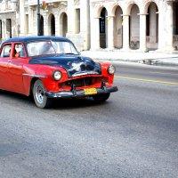 Red car, Cuba :: Arman S