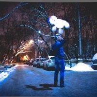 Снеговик :: Мария Клюева