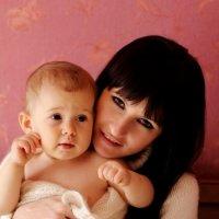 Мамочка и доця :: Дана