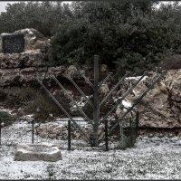 Иудея и Самария( Йегуда и Шомрон ) -Израиль-Снег«Израиль, всё о религии...» :: Shmual Hava Retro