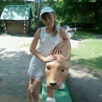 я в парке :: Кристина Подъяпольская