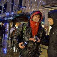 Венеция. Дождь и улыбка. :: Аркадий Беляков