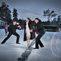 свадебная фотосессия зимой :: Антон Летов