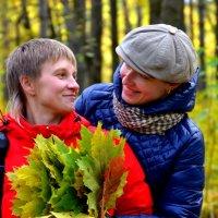 встреча в лесу :: Алёна Алексаткина