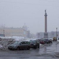 В зимней слякоти... :: Ирина Соловейчик