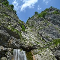 Гегский водопад,Абхазия. :: Лариса Красноперова