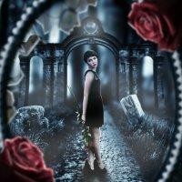 Девочка с двумя розами :: Макс Липовецкий