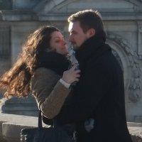 влюблённая парочка в Париже :: Татьяна Кудинова