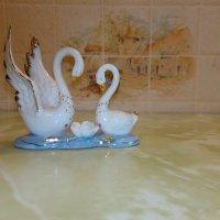 Минискульптура Лебеди :: jenia77 Миронюк Женя