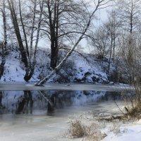 Зимняя река :: N. Efimkina