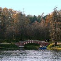 Горбатый мост на правом берегу Верхнего Кузьминского пруда :: Сергей Мягченков