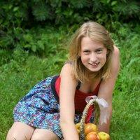 С яблоками :: Алена Дюкова