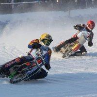Чемпионат Европы по мотогонкам на льду 23.01.2010 :: Ильдар Каримов