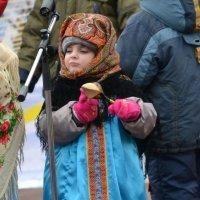 Юная солистка ансамбля Лоскутки :: Борис Русаков