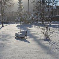 первый снег . декабрь 2013 :: Евгений Khripp