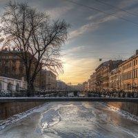Банковский мостик. Зима. :: Наталия Крыжановская
