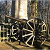 Пушка у памятника в честь сражения при Прейсиш-Эйлау. :: Валерия Комова