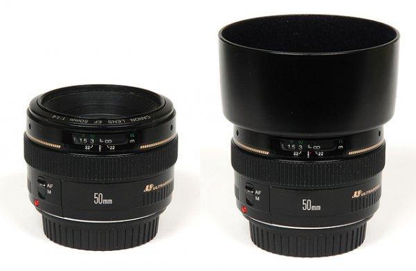 Обзор объектива Canon EF 50mm f/1.4 USM