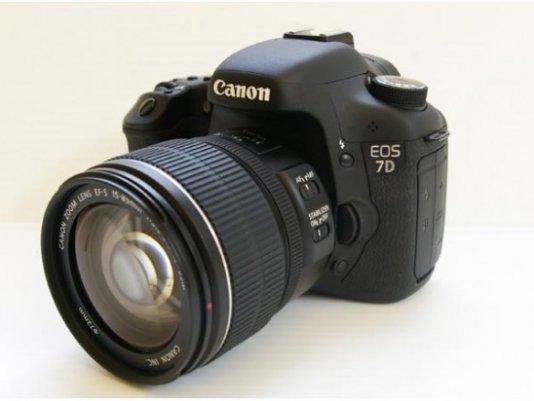 Подробный обзор Canon 7D