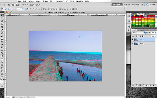 Как создать 3D эффект в Photoshop