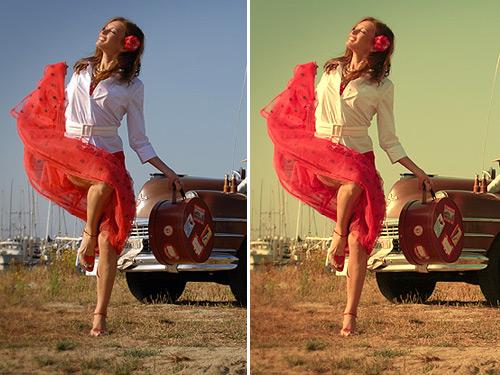 Как сделать все фото в одном стиле в фотошопе
