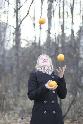 """""""Летающие апельсины"""""""