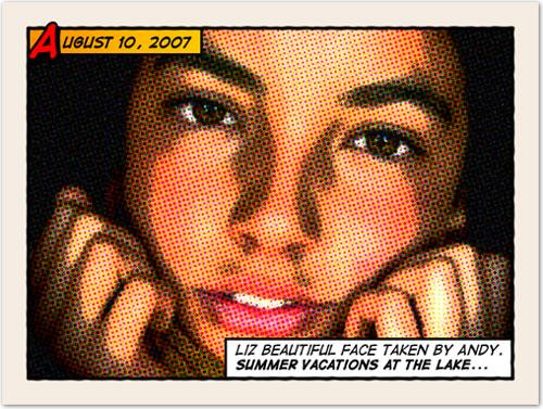 Уроки фотошопа: эффект комиксов