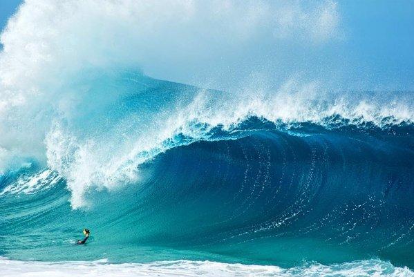 Шикарные морские волны, Гавайи