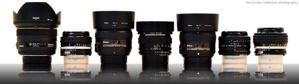 Тест семи 50mm объективов для Nikon