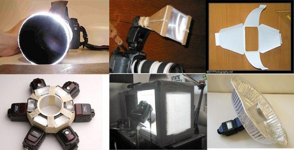 Интересные идеи для самодельной фото техники