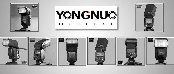 Обзор и сравнение фото вспышек Yongnuo