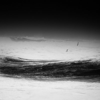 Черно-белая пейзажная фотография Золтана Бекефи