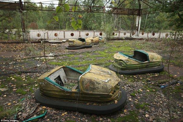Чернобыльская зона отчуждения до сих пор не дает покоя западным СМИ