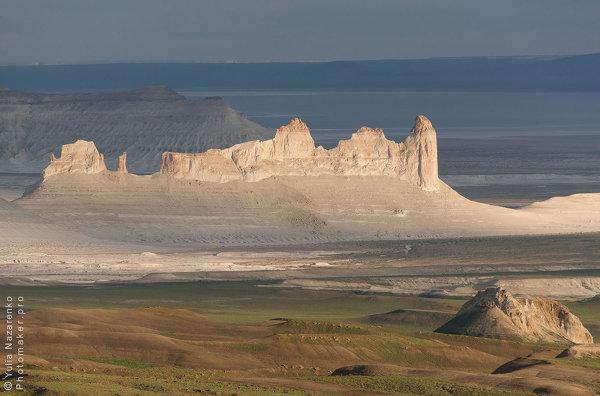 Уникальные виртуальные фото-туры по лунным ландшафтам плато Устюрт