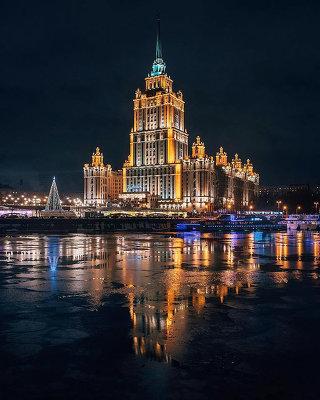Москва Ольги Мелекесцевой