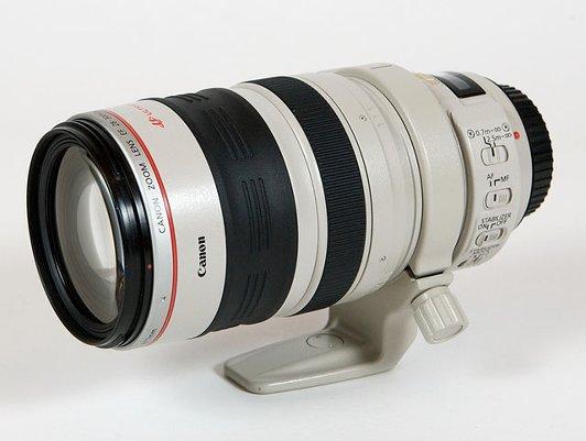 Почему некоторые линзы Canon белые, а не черные?