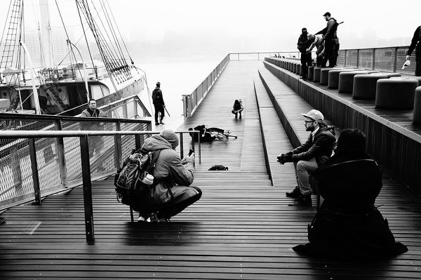 Почему стоит снимать вместе с другими фотографами