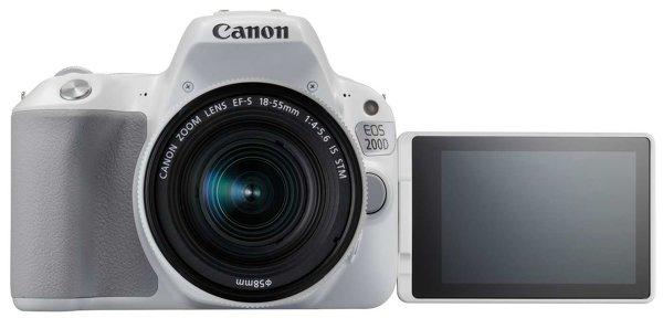 Возможности новой камеры Canon EOS 200D