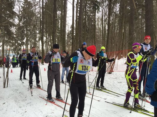 27.01.2018 Окружные соревнования по лыжным гонкам.