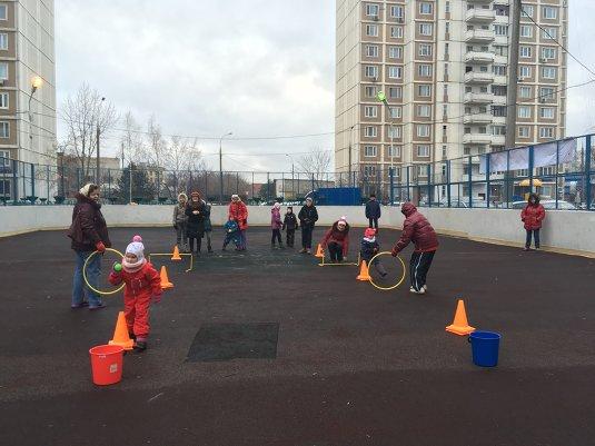 Спортивный праздник двора «Зима в Отрадном»