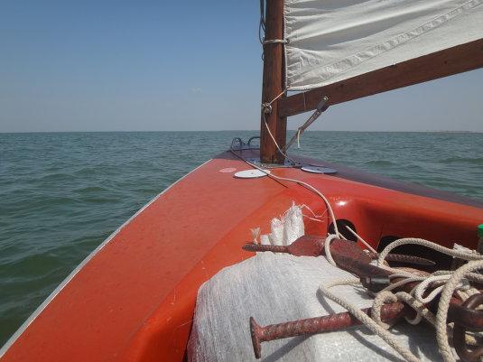 Путешествие, море Азовское